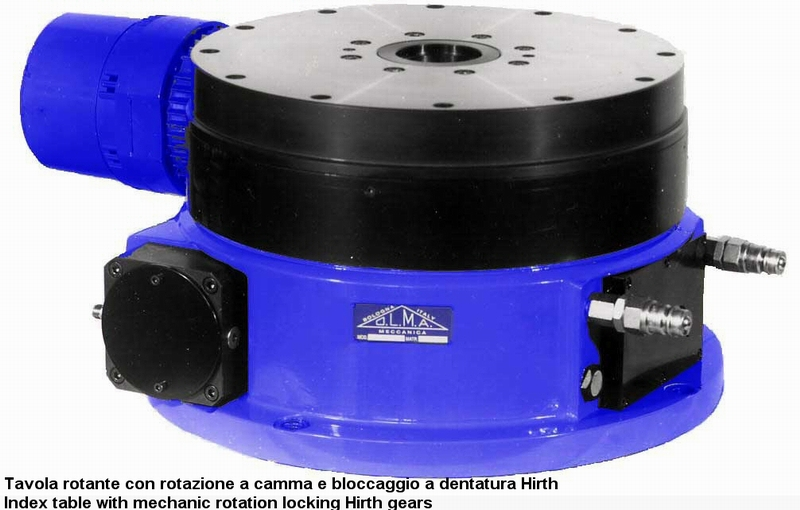 Tavole rotanti Fibro - NC Componenti